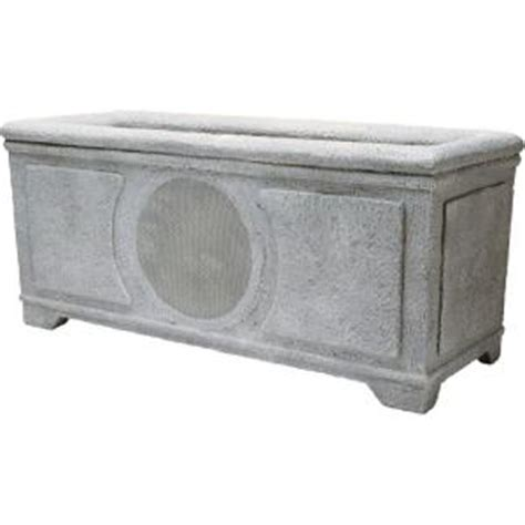 niles 6 in weatherproof planter box loudspeaker