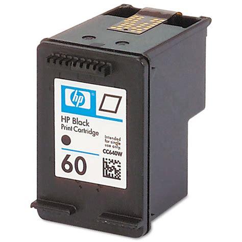 Hp 60 Catridge Black black ink cartridge hp 60 black ink cartridge yield