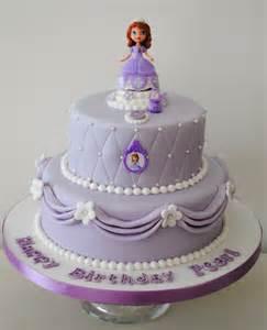 Shop celebration cakes 2 tiered sofia the first birthday cake