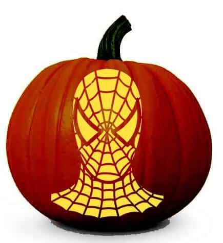 spiderman pattern for pumpkin disney pumpkin stencils over 130 printable pumpkin patterns