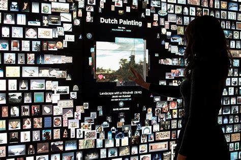 tech wall art blending art technology interpretation cleveland
