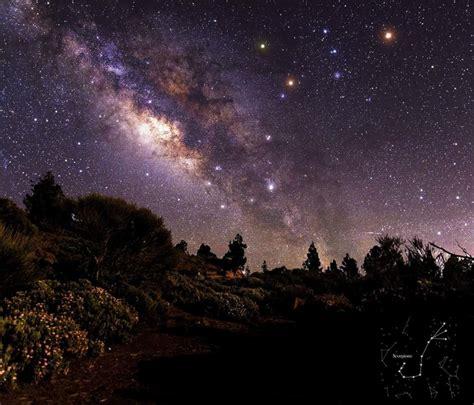 imagenes reales via lactea la v 237 a l 225 ctea y la constelaci 243 n de escorpio desde tenerife