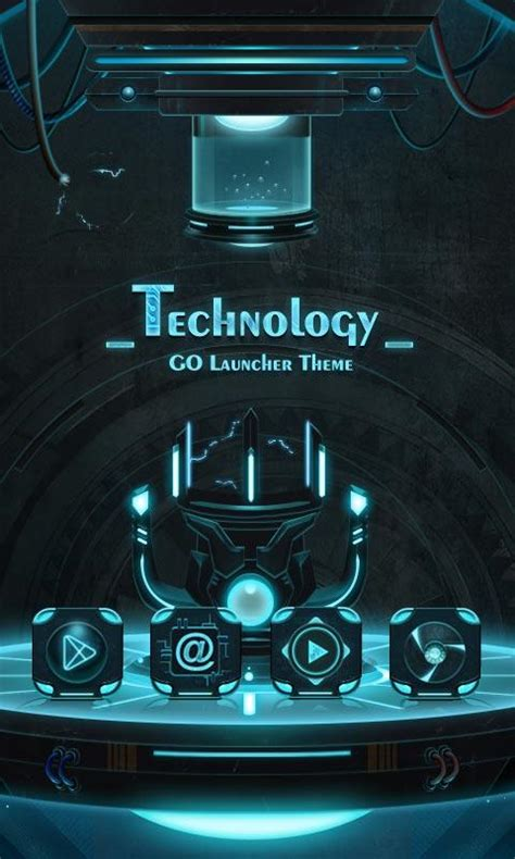 technology themes for android technology go launcher theme 1mobile com