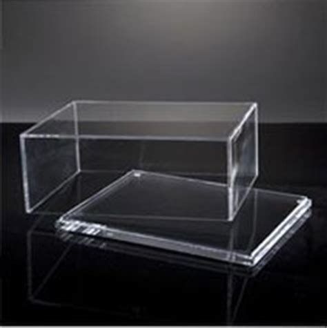 box doccia plexiglass box portaoggetti con coperchio in plexiglas oggettistica