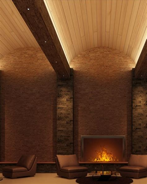 Cooper Industries Cove Lighting Arch Ceiling Brick Cove Ceiling Lighting