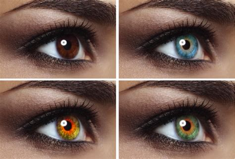 contacts to change eye color how to enhance change eye color the right way in photoshop