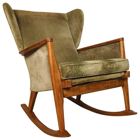 Wingback Rocking Chair by Parker Knoll Wingback Rocking Chair For Sale At 1stdibs