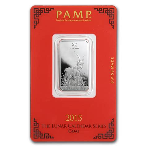 10 Gram Silver Bars by 10 Gram Silver Bar P Suisse Year Of The Goat P