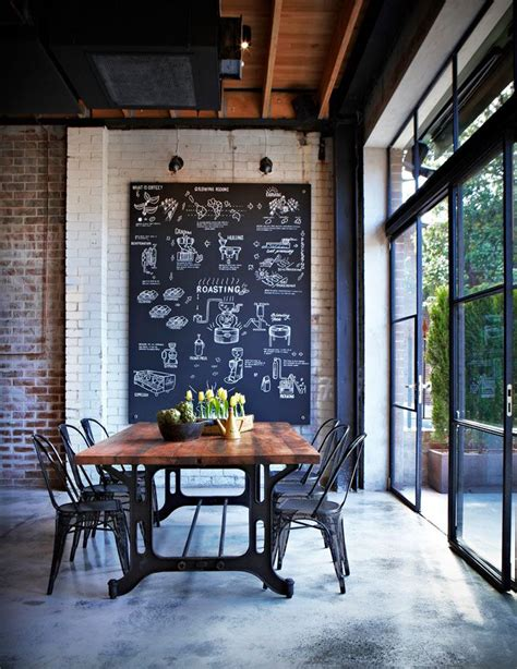 modern industrial home decor exposed brick the blend of contemporary rustic
