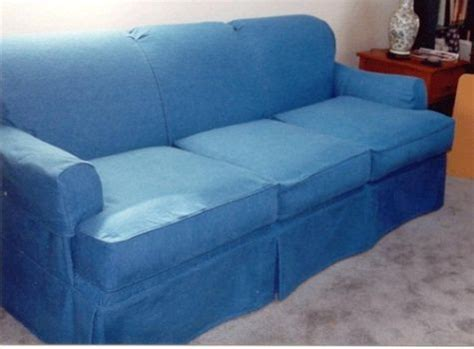 denim sofa covers home crafts