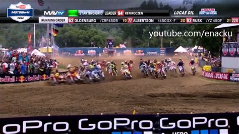 2014 ama motocross 2014 ama motocross 450 every holeshot montage
