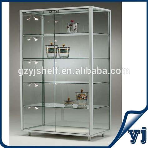 Custom Glass For Cabinets by Custom Glass Vitrine Display Cabinet Aluminium Glass Cheap