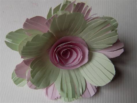 Paper Flower At Home - how to make paper flowers at home step by step easy with