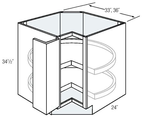 lazy susan cabinet dimensions corner cabinet lazy susan dimensions corner base cabinets