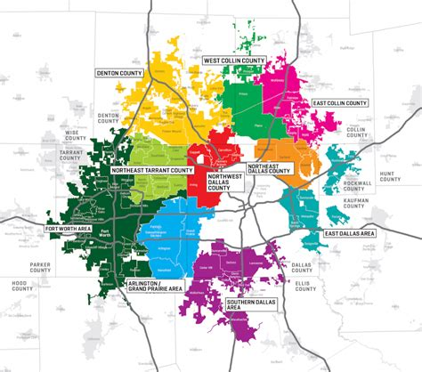 map of dallas and suburbs beyond dallas say yes to dallas