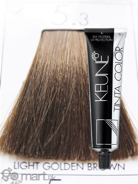 shoo that lightens hair color keune tinta color light golden brown 5 3 hair color