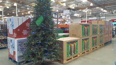 when does costco start selling chriatnas trees costco led 9 ft and 7 5 ft trees