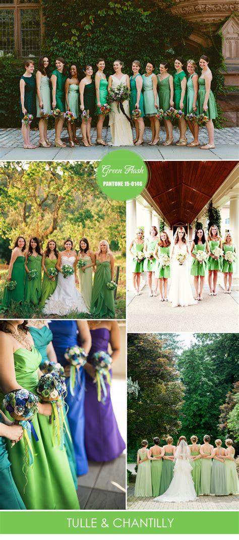 top 10 pantone colors for spring summer bridesmaid dresses