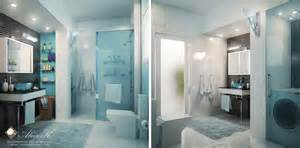 Modern Bathroom Apartment Modern Apartment Master Bath By Kasrawy On Deviantart