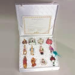 lenox delightful wedding themed ornaments by merck family