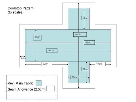 Pattern For House Door Stop | make do doorstop tutorial