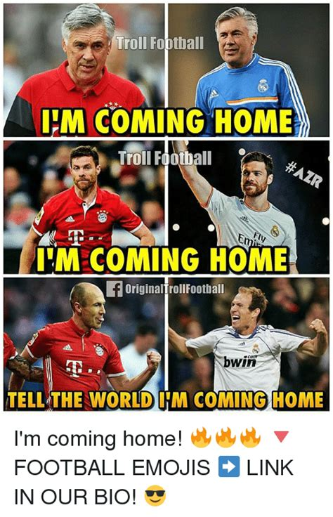 troll football im coming home troll football m coming home