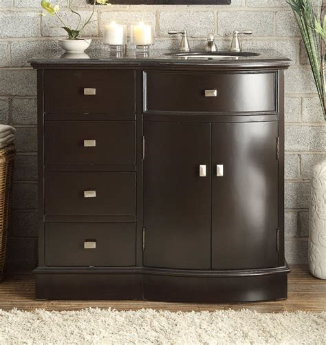 40 inch double sink vanity adelina 40 inch espresso finish bathroom vanity black