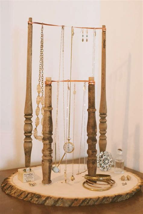 how to make jewelry stands and displays diy jewelry stand