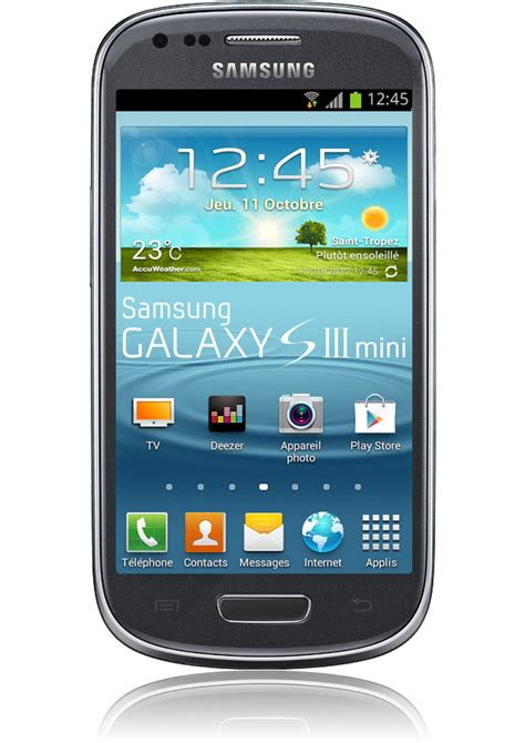 Tv Samsung Mini samsung galaxy s3 mini titanium android 4 1 233 cran amoled orange mobile