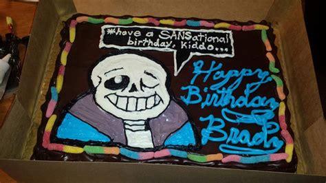 Undertale birthday Cake   Undertale Amino