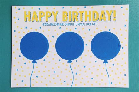 printable birthday cards diy diy birthday scratch off card free printable