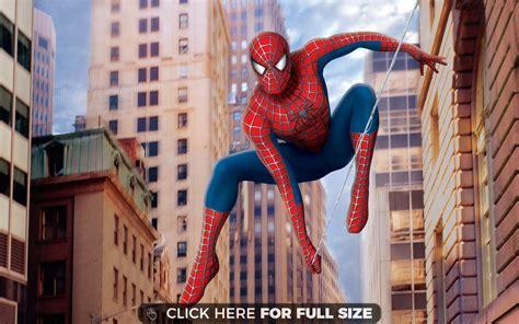 swinging man spiderman 1 hd wallpaper