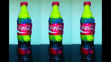original color of coca cola how to make real coca cola rainbow coca cola decoration