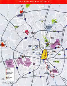 maps update 21051488 san antonio tourist attractions map