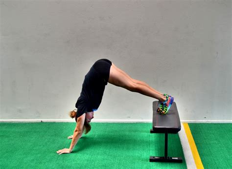 handstand bench how to do a handstand redefining strength