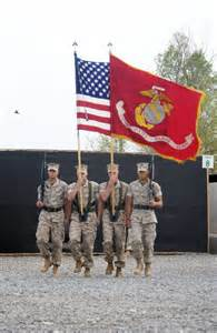 marine corps color guard file us navy 060701 n 0411d 027 a marine corps color guard