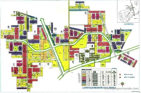 layout plan of town unitech south city 2 south city gurgaon independent