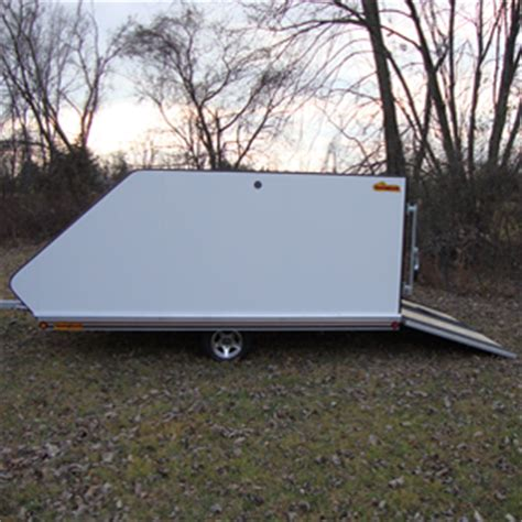 Used Shed Trailer by 12 Sled Shed Rear R Trailer Sledshed Trailers