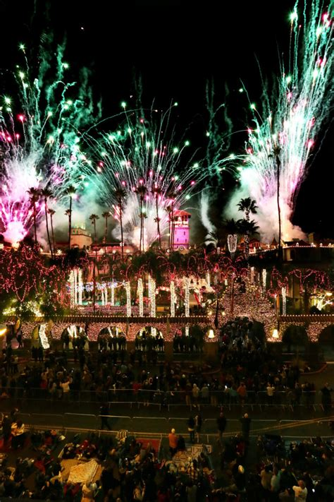 light festival san bernardino mission inn s festival of lights switches on the
