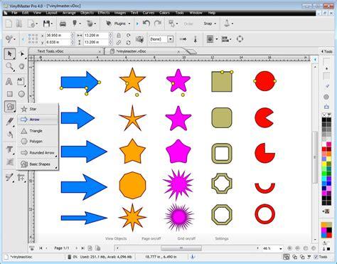 vinyl design maker vinylmaster pro v4 2017 pro vinyl design cut software 4