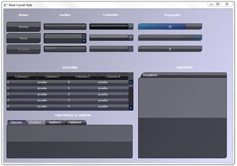 wpf tabcontrol template wpf customize your application with styles and