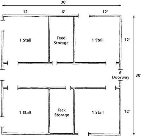 goat barn floor plans floor plan for the barn i hope i have someday hay