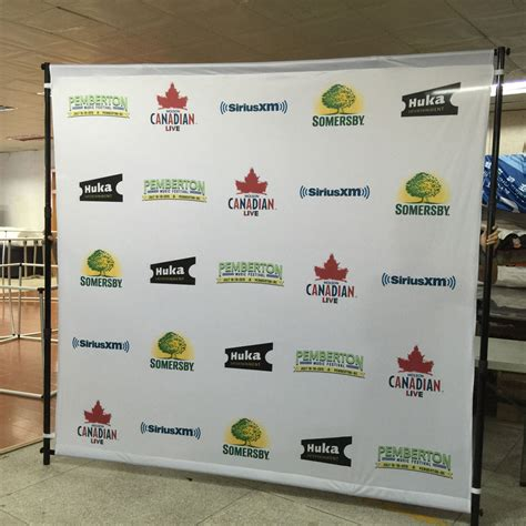 Wedding Backdrop Stand Australia by Backdrop Stand For Banners Displays Step Repeat Walls