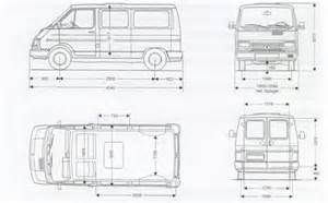 Renault Trafic Dimensions Renault Blueprints Renault Trafic Free Textures And