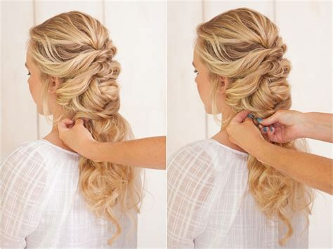 Wedding Hairstyles With A Braid by Braid Twist Tutorial Link