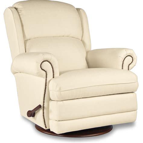 lazy boy glider recliner kirkwood reclina glider 174 swivel recliner with nailhead