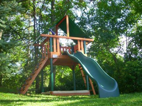 rainbow swing sets costco swing set installation nj playset installer cedar summit
