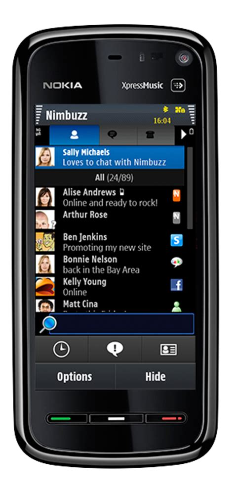 transparent themes for nokia x2 01 nimbuzz for symbian gets updated to v2 4