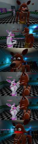 Foxy x mangle foxy s gift kiss by mrwolf202 on deviantart