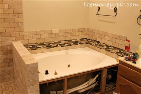tiling side of bathtub november 2012 the kim six fix